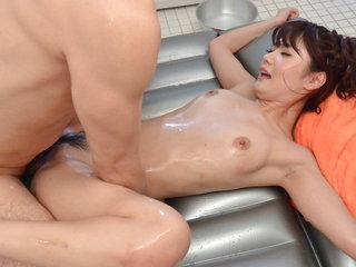Maya Kawamura amazes with cock sucking and harsh sex